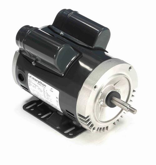 J059 Marathon 2 hp Basic Jet Pump Motor 3600 RPM 115/208-230V ODP 56J Frame (rigid base)