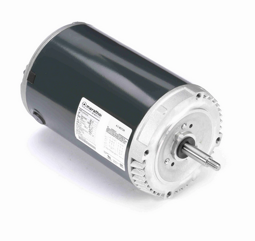 K227 Marathon 3 hp 3-Phase Jet Pump Motor 3600 RPM 208-230/460V ODP 56J Frame (no base)