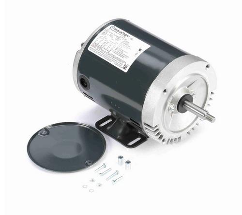 J048 Marathon 1/2 hp 3-Phase Jet Pump Motor 3600 RPM 208-230/460V ODP 56J Frame (rigid base)