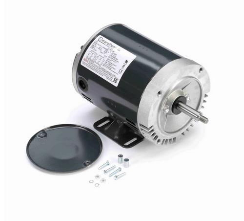 J049 Marathon 3/4 hp 3-Phase Jet Pump Motor 3600 RPM 208-230/460V ODP 56J Frame (rigid base)
