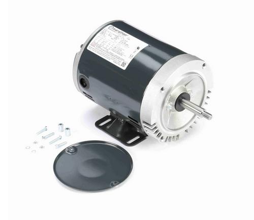J050 Marathon 1 hp 3-Phase Jet Pump Motor 3600 RPM 208-230/460V ODP 56J Frame (rigid base)