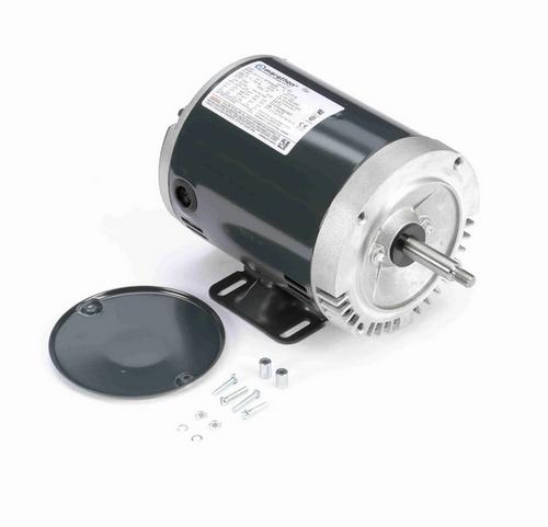 J051 Marathon 1 1/2 hp 3-Phase Jet Pump Motor 3600 RPM 208-230/460V ODP 56J Frame (rigid base)