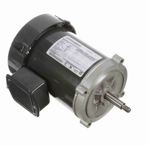 K230 Marathon 1/2 hp 3-Phase Jet Pump Motor 3600 RPM 208-230/460V TEFC 56J Frame (no base)