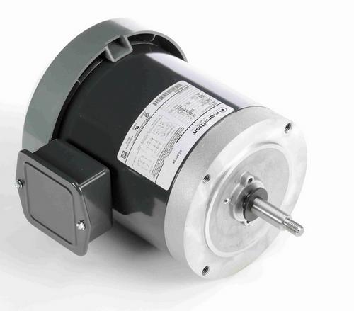 K550 Marathon 1/2 hp 3-Phase Jet Pump Motor 1800 RPM 208-230/460V TEFC 56J Frame (rigid base)
