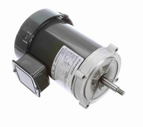 KG232 Marathon 3/4 hp 3-Phase Jet Pump Motor 3600 RPM 208-230/460V TEFC 56J Frame (no base)