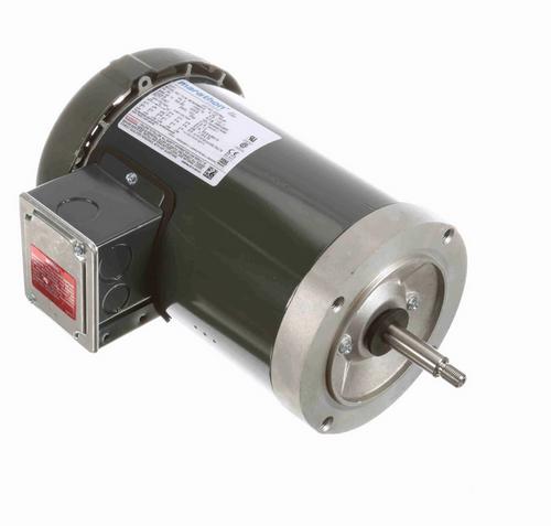 KG236A Marathon 1 1/2 hp 3-Phase Jet Pump Motor 3600 RPM 230/460V TEFC 56J Frame (no base)
