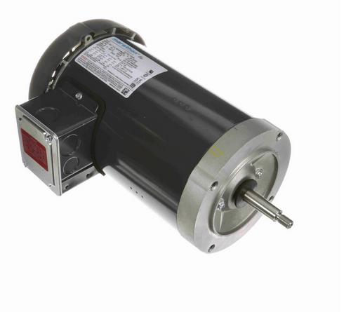 K238A Marathon 2 hp 3-Phase Jet Pump Motor 3600 RPM 230/460V TEFC 56J Frame (no base)