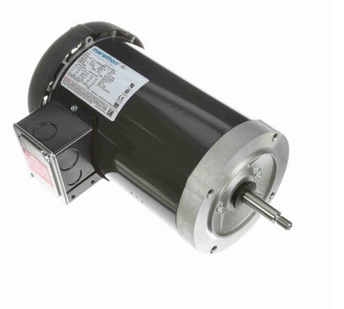 K240A Marathon 3 hp 3-Phase Jet Pump Motor 3600 RPM 230/460V TEFC 56J Frame (no base)