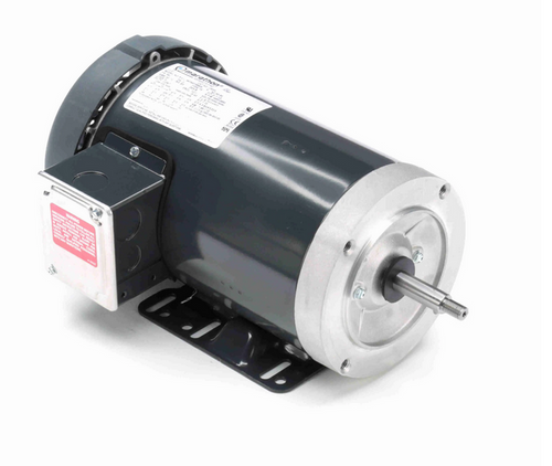 J065A Marathon 2 hp 3-Phase Jet Pump Motor 3600 RPM 230/460V TEFC 56J Frame (rigid base)