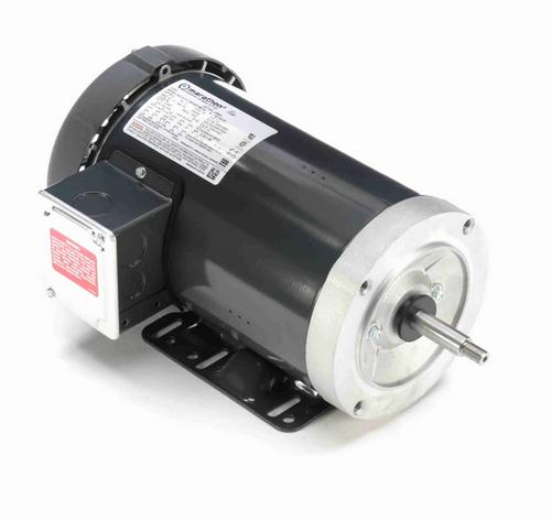 J066A Marathon 3 hp 3-Phase Jet Pump Motor 3600 RPM 230/460V TEFC 56J Frame (rigid base)