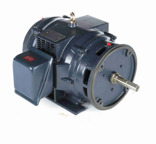 GT0460  Marathon 15 hp 1200 RPM 3-phase, 284JM Frame (Rigid Base) ODP 230/460V Close Coupled Pump Motor