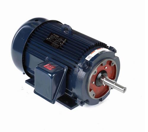 U531A 20 hp Marathon 3600 RPM 3 phase 256JM Frame (Rigid Base) TEFC 230/460V Close Coupled Pump Motor