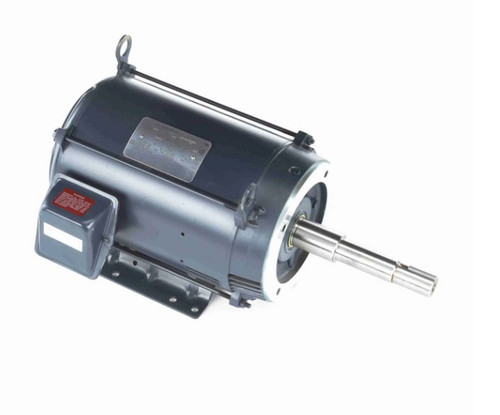 GT2521A 15 hp Marathon 3600 RPM 3 phase 215JP Frame (Rigid Base) ODP 575V Close Coupled Pump Motor