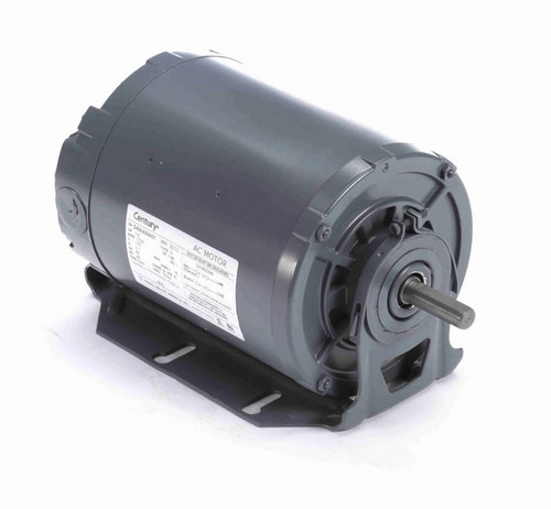 904L Century 1/4 hp 1800 RPM 48 Frame 115V Belt Drive TENV Blower Motor
