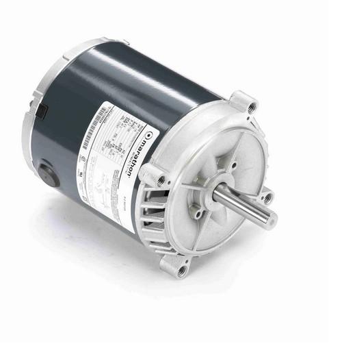 H208 Marathon 1/6 hp 1800 RPM 56CZ Frame 115V (No Base) ODP Exhaust Blower Motor