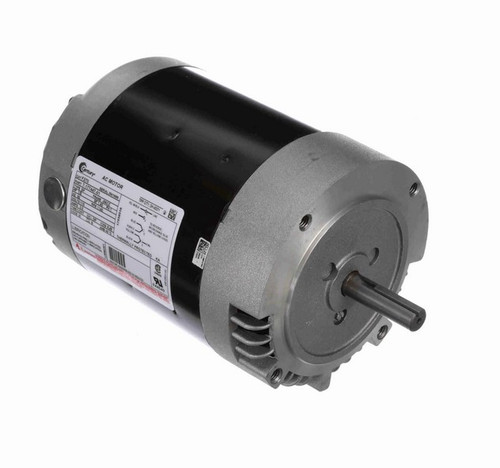 F270 Century 1/8 hp 1200 RPM 56CZ Frame 115V ODP (No Base) Exhaust Blower Motor