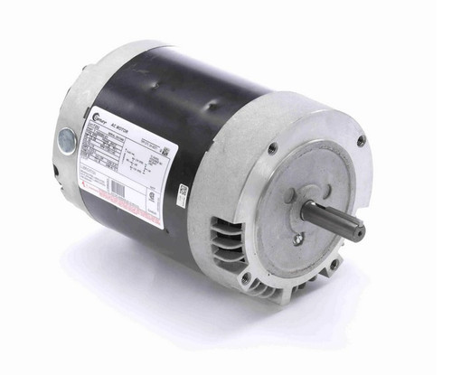 F252 Century 1/3 hp 1800/1200 RPM 56CZ Frame 115V (No Base) ODP Exhaust Blower Motor