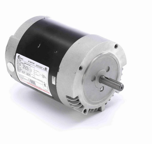 F262 Century 1/3 hp 1800/1200 RPM 56CZ Frame 115V (No Base) ODP Exhaust Blower Motor