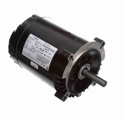 F394 Century 1/3 hp 1800 RPM 56CZ Frame 115V (No Base) ODP Exhaust Blower Motor
