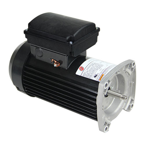 TEQ125 US Motors 1 hp 3450 RPM 48Y 115/230V (TEFC) High Efficiency Switchless Pool Pump Motor