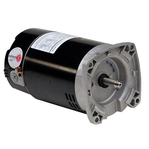 ASB2980 US Motors 1 1/4 hp 3450/1725 RPM 56Y 230V (ODP) High Efficiency Switchless Pool Pump Motor