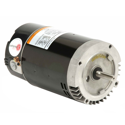ASB2973 US Motors 1 hp 3450 RPM 56J 230V (ODP) High Efficiency Switchless Pool Pump Motor