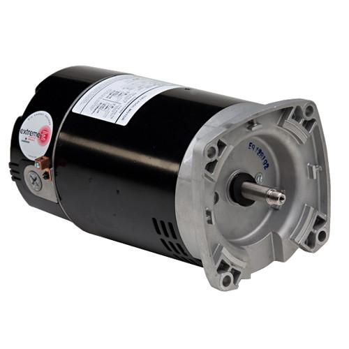 ASB748 US Motors 2 hp 3450 RPM 56Y 230V (ODP) High Efficiency Switchless Pool Pump Motor