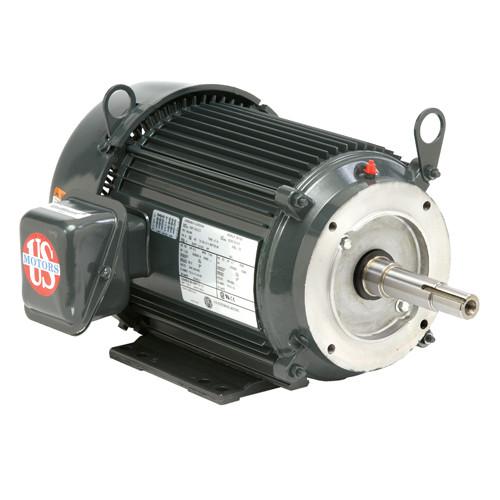 UJ10P2DP US Motors 10 hp 1800 RPM  3-phase 215JP Frame 208-230/460V Close-Coupled Pump Motor