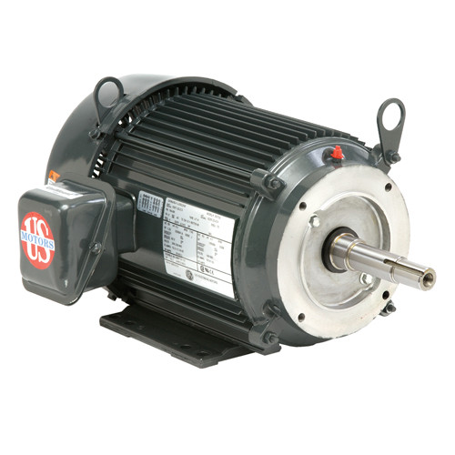 UJ7P1DJ US Motors 7 1/2 hp 3600 RPM  3-phase 213TCZ Frame 208-230/460V Close-Coupled Pump Motor