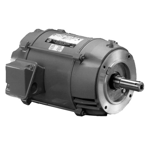 DJ1P2DU US Motors 1 hp 1800 RPM  3-phase 143JM Footless 208-230/460V (ODP) Close-Coupled Pump Motor