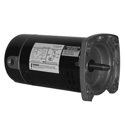 JS100UPR US Motors 1 hp 3450 RPM ODP 48Y 115/230V Jet (Non-Pool) Pump Motor