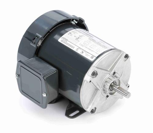K153 Marathon 1/3 hp 208-230/460V 3600 RPM 3-Phase 48 Frame TEFC (rigid base) Motor