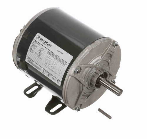 K196 Marathon 1/3 hp 208-230/460V 1800 RPM 3-Phase 56 Frame TENV (rigid base) Motor