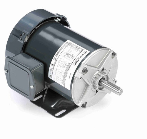 K155 Marathon 1/3 hp 208-230/460V 1200 RPM 3-Phase 56 Frame TEFC (rigid base) Motor