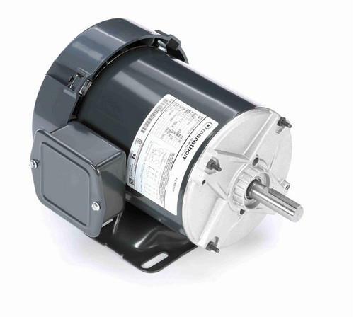 K158 Marathon 1/2 hp 208-230/460V 1800 RPM 3-Phase 56 Frame TEFC (rigid base) Motor