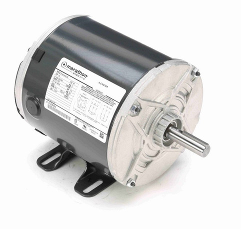 K197 Marathon 1/2 hp 208-230/460V 1800 RPM 3-Phase 56 Frame TENV (rigid base) Motor