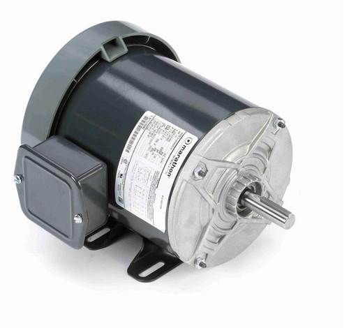 K159 Marathon 1/2 hp 208-230/460V 1200 RPM 3-Phase 56 Frame TEFC (rigid base) Motor