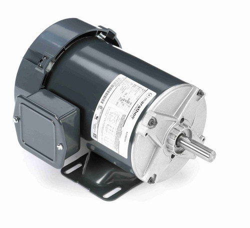 K160 Marathon 3/4 hp 208-230/460V 3600 RPM 3-Phase 56 Frame TEFC (rigid base) Motor