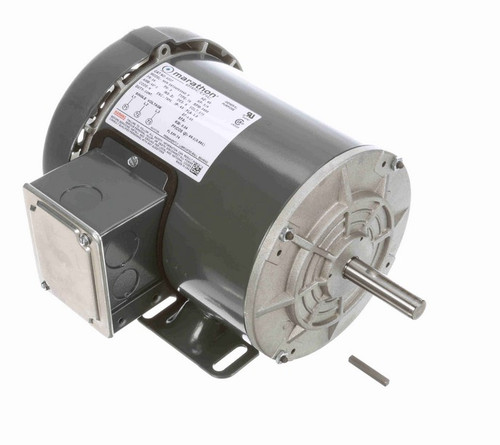 G327 Marathon 3/4 hp 575V 3600 RPM 3-Phase 56 Frame TEFC (rigid base) Motor