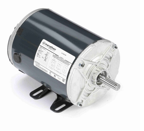 K198 Marathon 3/4 hp 208-230/460V 1800 RPM 3-Phase 56 Frame TENV (rigid base) Motor