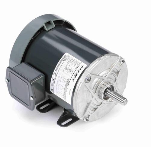 K162 Marathon 3/4 hp 208-230/460V 1200 RPM 3-Phase 56 Frame TEFC (rigid base) Motor