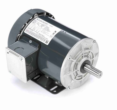 H700 Marathon 3/4 hp 208-230/460V 1200 RPM 3-Phase 143T Frame TEFC (rigid base) Motor