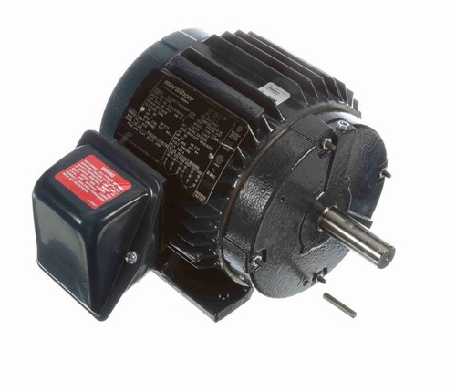 E349 Marathon 1 hp 230/460V 1800 RPM 3-Phase 143T Frame TENV (rigid base) Motor