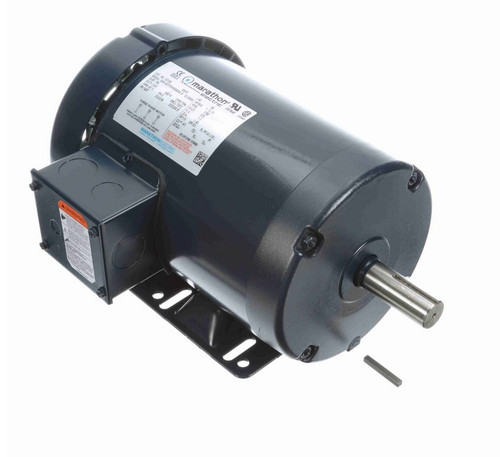 E2126 Marathon 1 hp 575V 1800 RPM 3-Phase 143T Frame TEFC (rigid base) Motor