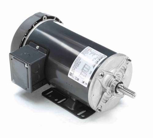 G360A Marathon 1 hp 230/460V 1200 RPM 3-Phase 56 Frame TEFC (rigid base) Motor