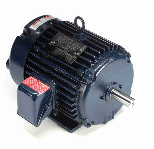 L409B Marathon 1 hp 230/460V 900 RPM 3-Phase 182T Frame TEFC (rigid base) Motor