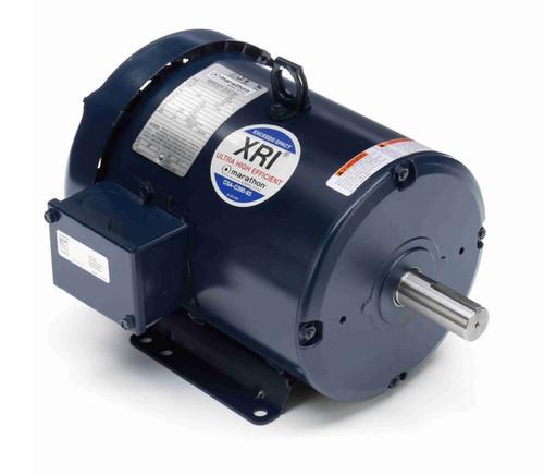 E2105 Marathon 1 1/2 hp 230/460V 1200 RPM 3-Phase 182T Frame TEFC (rigid base) Motor