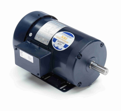 E2106 Marathon 2 hp 230/460V 3600 RPM 3-Phase 145T Frame TEFC (rigid base) Motor