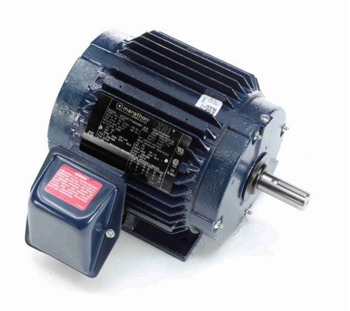 E353 Marathon 2 hp 230/460V 3600 RPM 3-Phase 145T Frame TEFC (rigid base) Motor