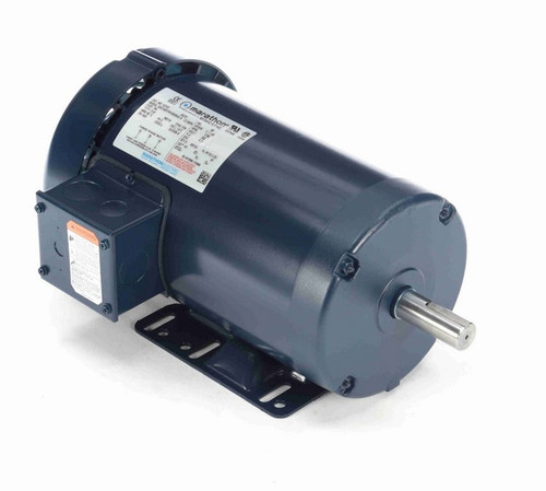 E2157 Marathon 2 hp 200V 1800 RPM 3-Phase 145T Frame TEFC (rigid base) Motor